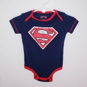 Baby Superman Onesie NEW 0 3 Months